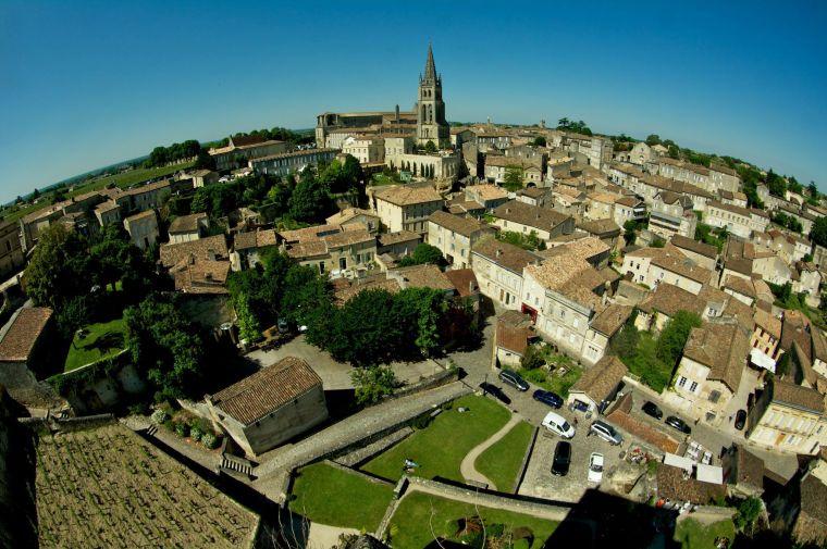 Vista panorámica de Saint Emilion