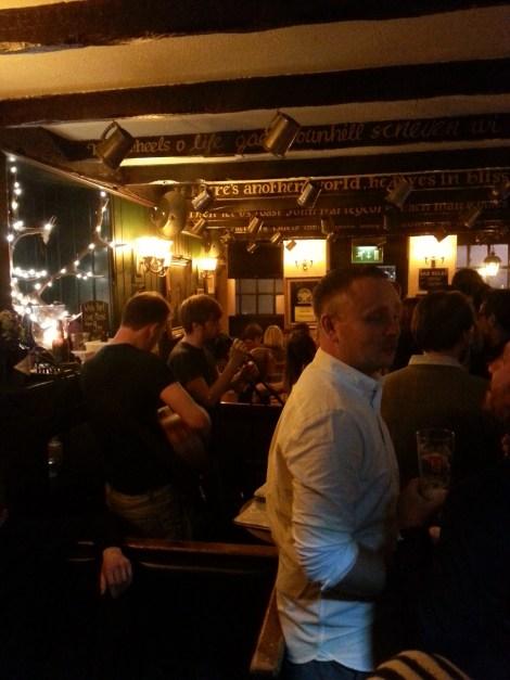 Pub The White Hart Inn en Grassmarket, Edimburgo