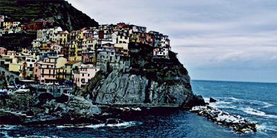Manarola, uno de los 5 pueblos que forman Cinque Terre