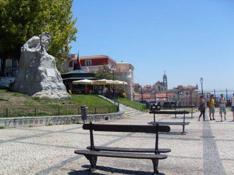 Mirador de Adamastor en el Barrio de Santa Caterina, Lisboa