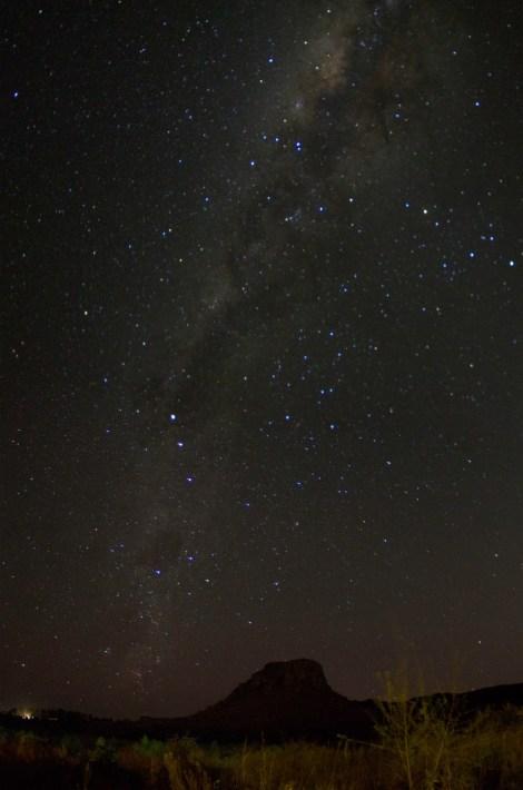Miles de estrellas pueden verse cada noche en el cielo de Madagascar, vía láctea incluida