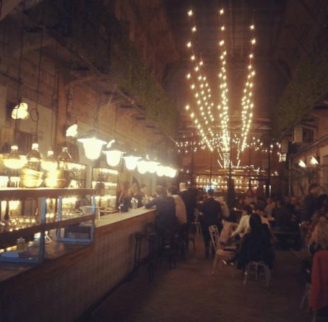 El restaurante judío Mazel Tov