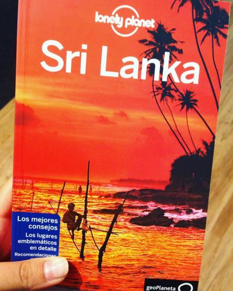 Con la Lonely Planet de Sri Lanka en las manos, ya podemos preparar nuestro viaje