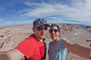 En el desierto de Atacama, Chile