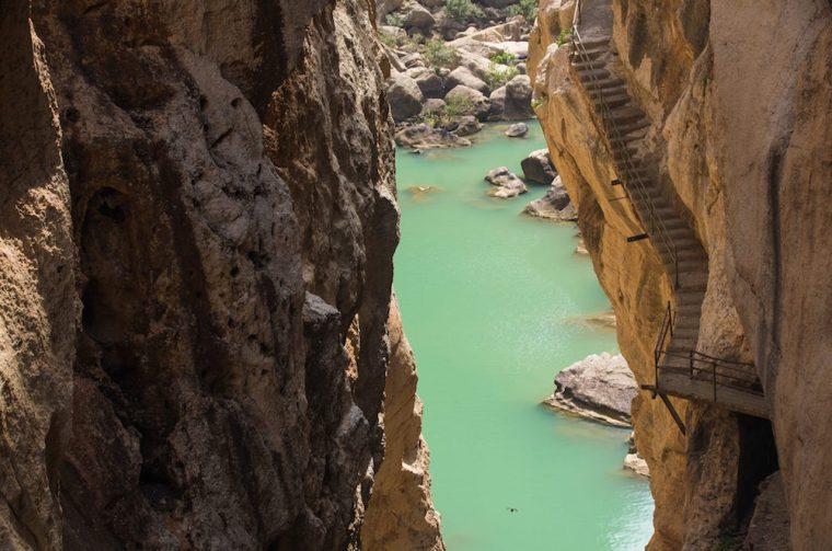 El antiguo Caminito del Rey se construyó para permitir el acceso a los trabajadores de la Central Hidroeléctrica del Chorro