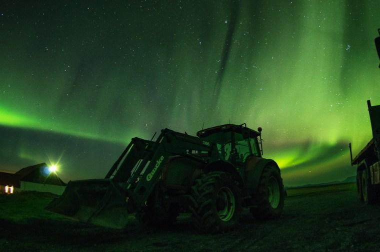 Generalmente la temporada fuerte para ver auroras boreales en el hemisferio Norte es de octubre a marzo