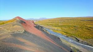 Ruta por Vesturdalur, en el parque Jokulsargljufur, Islandia