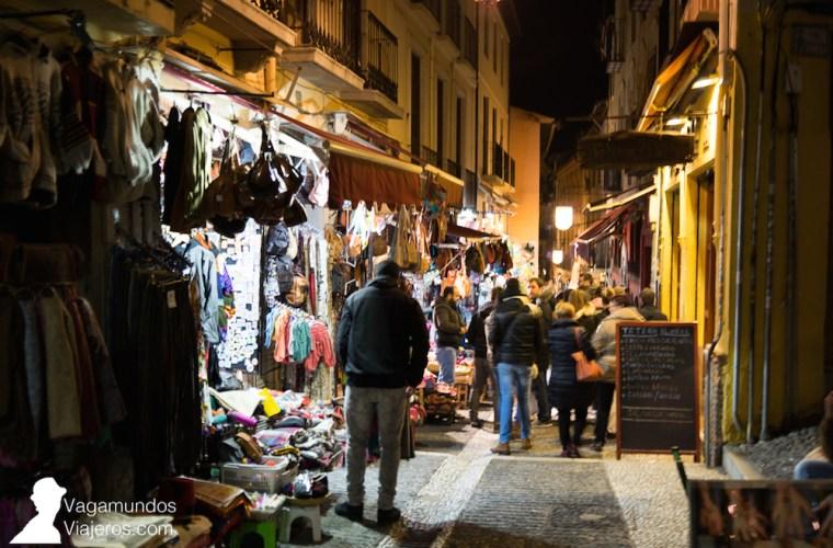 La calle Calderería, un pequeño Marruecos dentro de Granada