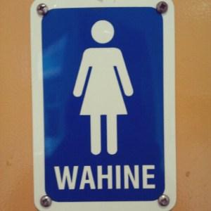 Aprendiendo mahorí en Nueva Zelanda gracias a los carteles de los aseos