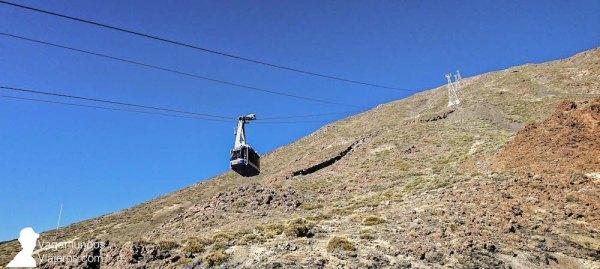 El teleférico del Teide te lleva en 8 minutos hasta los 3.500 metros de altura