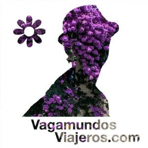 Logo de primavera del blog vagamundosviajeros.com
