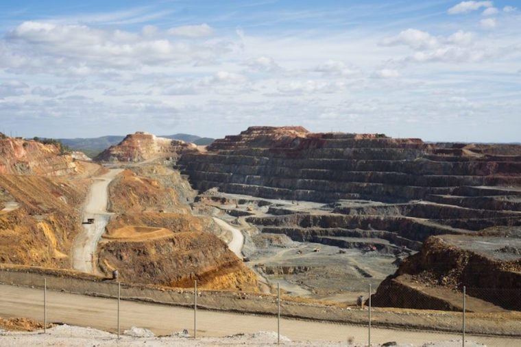 La mina Cerro Colorado en Riotinto, Huelva