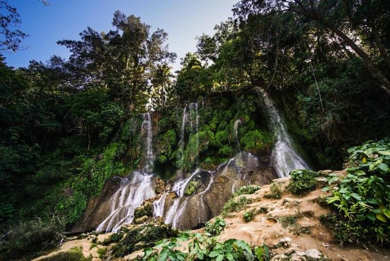 Cascada en el Nicho, en la sierra Escambray de Cuba