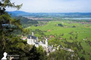 Mirador al castillo Neuschwanstein