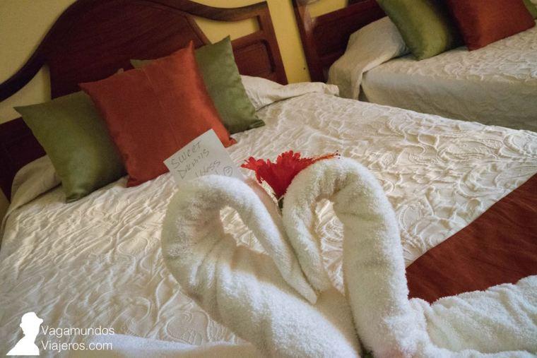 Habitación en el hotel Los Jazmines de Viñales, Cuba