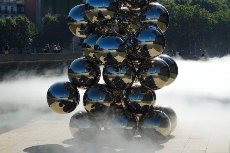 El gran árbol y el ojo, del artista indio Anish Kapoor, para el Guggenheim Bilbao