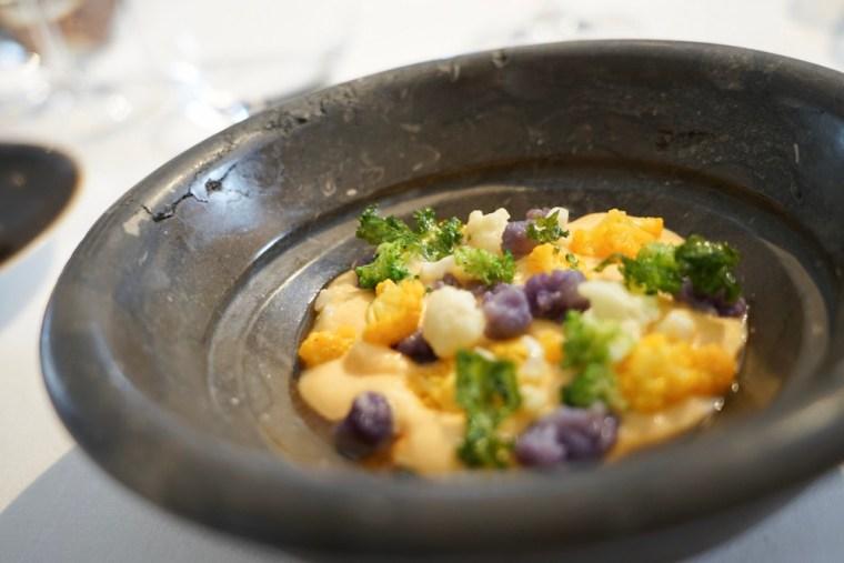 Botillo del menú degustación del restaurante Estrella Michelín Cocinandos, en León