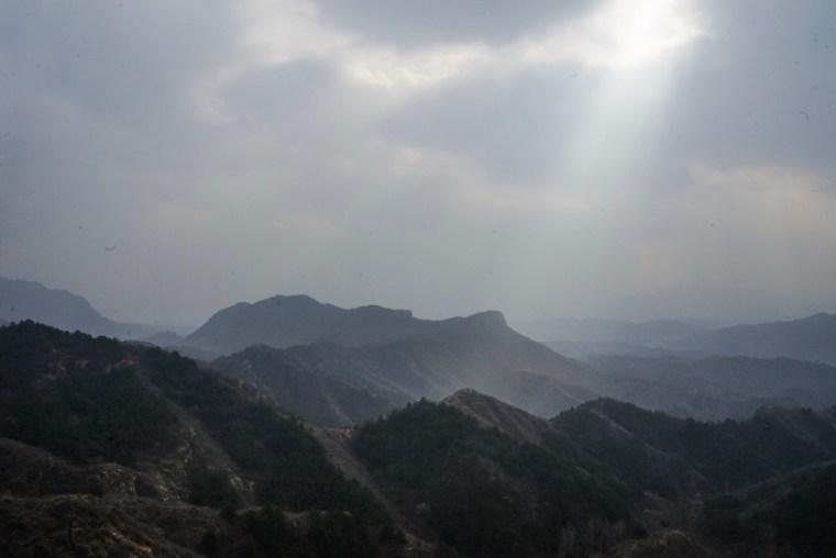 Zona de China donde está la Gran Muralla