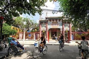 Asamblea china en Hoi An, Vietnam
