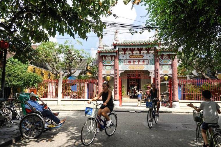Asamblea china en Hoi An, Vietnam