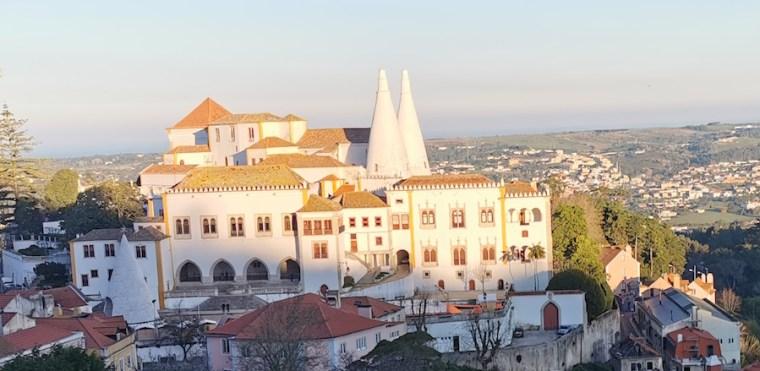 El Palacio Nacional de Sintra