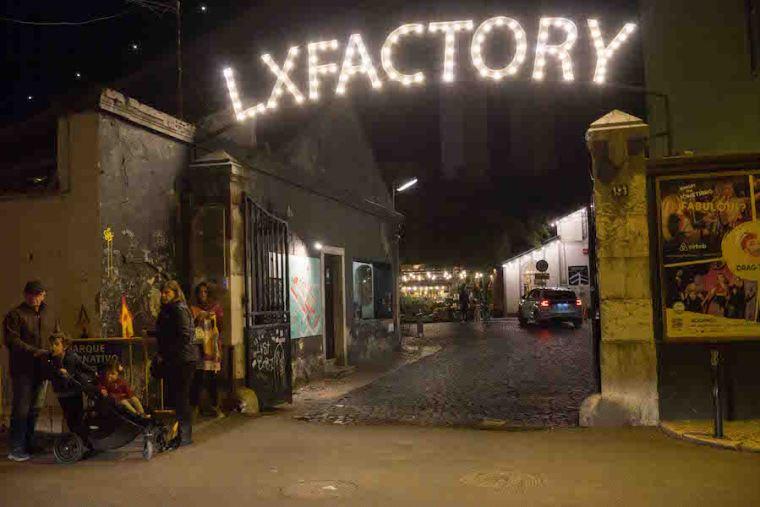 Entrada al Lx Factory, Lisboa