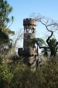 Torre de Regaleira, en los jardines de la Quinta da Regaleira, Sintra