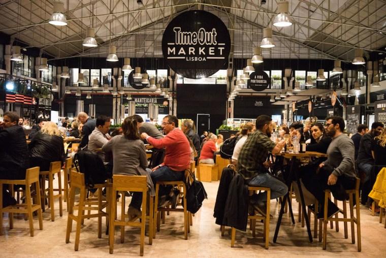 Time Out Market Lisboa, en el Mercado da Ribeira