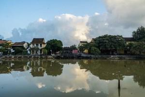 El río Thu Bon en Hoi An