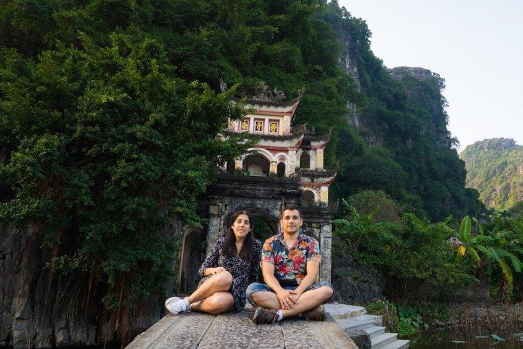 Entrada a la pagoda Bich Dong en Tam Coc