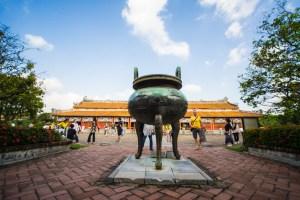 Hurna sagrada en la ciudad imperial de Hue