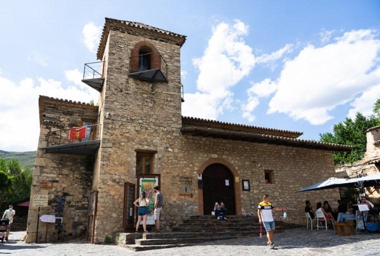 Oficina de información turística de Patones de Arriba