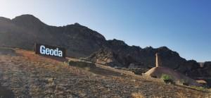 Exterior de la Mina Rica donde se encuentra la geoda de Pulpí