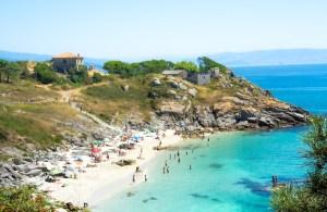Playa de Nossa Senhora en las islas Cíes