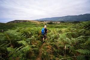También hay mucho verde en la senda costera de Celorio a Llanes