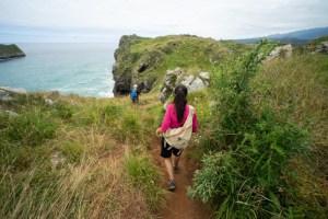 Caminando por la senda costera de Celorio a Llanes