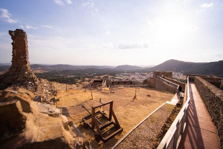 Restos del Castillo de Aracena