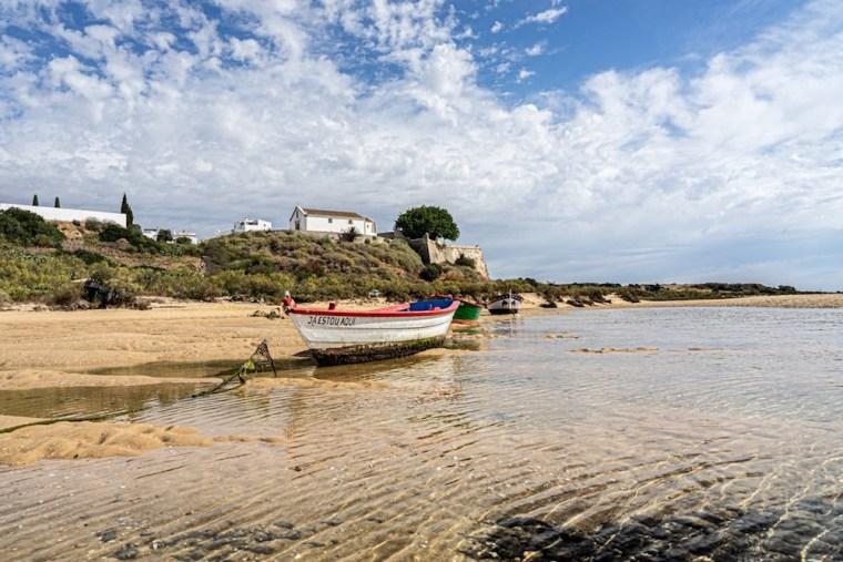 Cacela Velha, conocida por sus vistas sobre la ría Formosa