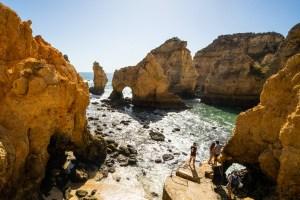 Ponta da Piedade, uno de los lugares más icónicos del Algarve