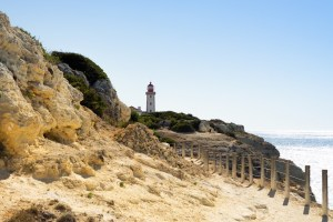 Faro en el transcurso de la ruta de los 7 Valles Colgantes
