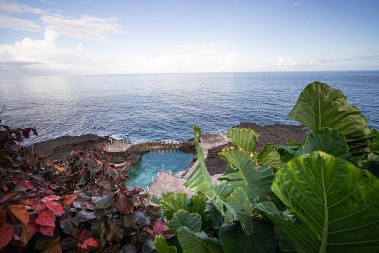 Piscinas naturales Charco Azul, La Palma