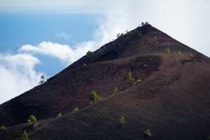 Volcán Martín en la ruta de los Volcanes de La Palma