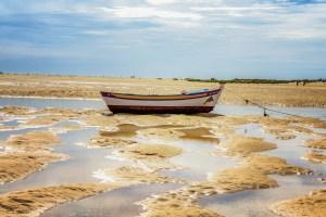 Ría Formosa en Cacela Velha, Algarve, Portugal