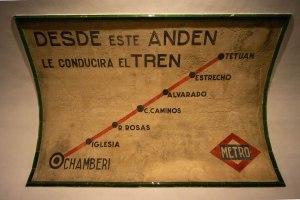 Paradas de la línea 1 original de Metro Madrid