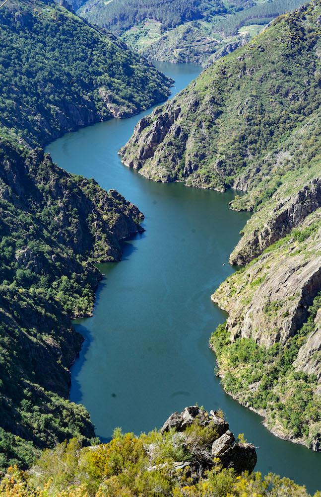 Cañón del río Sil en la Ribeira Sacra