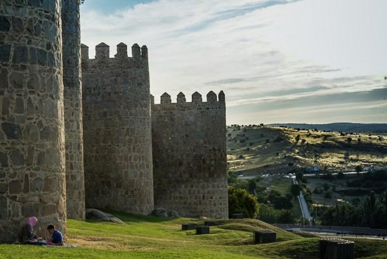 Torreones de la muralla de Ávila