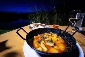 All i pebre, uno de los platos tradicionales en la Albufera