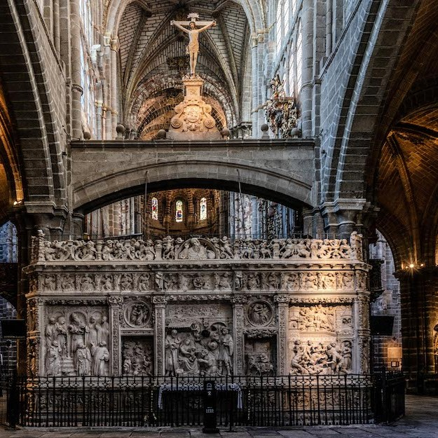 Transcoro en la Catedral de Ávila
