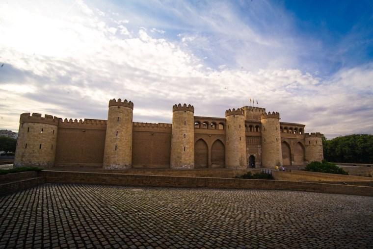 Palacio de Alfajería en Zaragoza