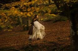 La belleza del hayedo hace que sea escenario también de reportajes fotográficos de boda